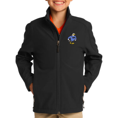 Port Authority - Youth Core Soft Shell Jacket - Embroidered Logo Thumbnail