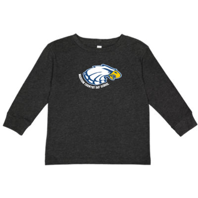 Rabbit Skins - Toddler Long Sleeve - Print Vinyl Logo Thumbnail