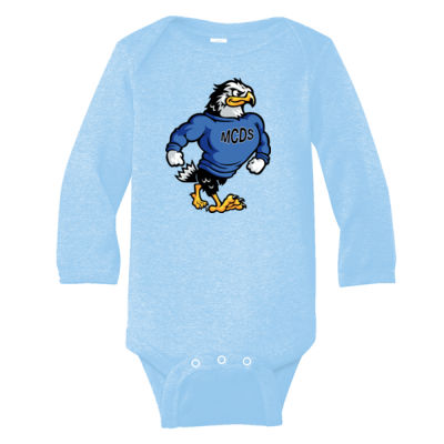 Rabbit Skins - Infant Long Sleeve Bodysuit - Print Vinyl Logo Thumbnail