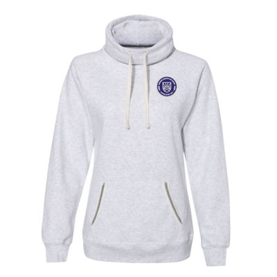 J. America - Women's Relay Sweatshirt - Embroidered Logo Thumbnail