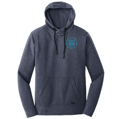 New Era - Men's Triblend Fleece Hoodie - Embroidered Logo Thumbnail