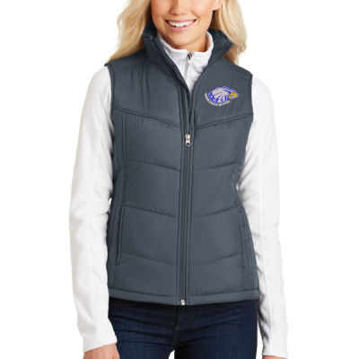 Port Authority - Women's Puffy Vest - Embroidered Logo Thumbnail