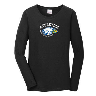 Gildan - Women's Heavy Cotton Long Sleeve - Print Vinyl Logo Thumbnail