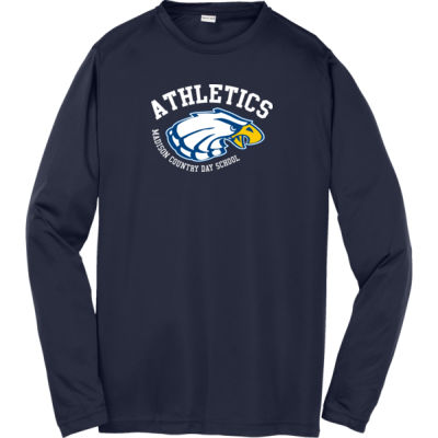 Sport-Tek - Youth PosiCharge Long Sleeve - Print Vinyl Logo Thumbnail
