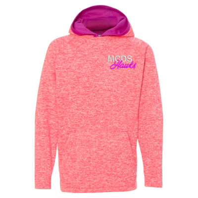 J. America - Youth Cosmic Fleece Hoodie - Embroidered Logo Thumbnail