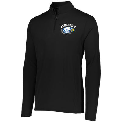 Augusta - Youth Attain Quarter Zip - Print Vinyl Logo Thumbnail