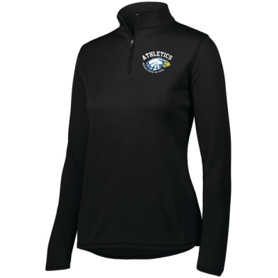 Augusta - Women's Attain Quarter Zip - Print Vinyl Logo Thumbnail