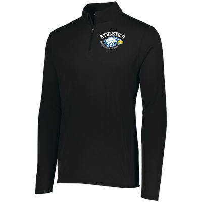 Augusta - Men's Attain Quarter Zip - Print Vinyl Logo Thumbnail