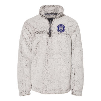 Boxercarft - Youth Sherpa Fleece Quarter Zip - Embroidered Logo Thumbnail